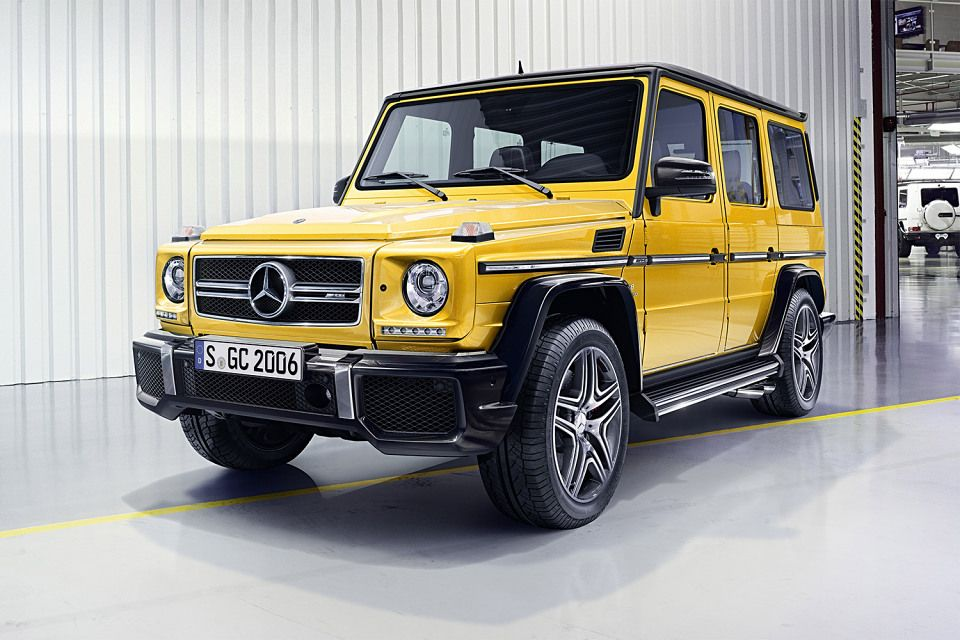 The New 2016 Mercedes Benz G Class Comes In These Bold New Colors