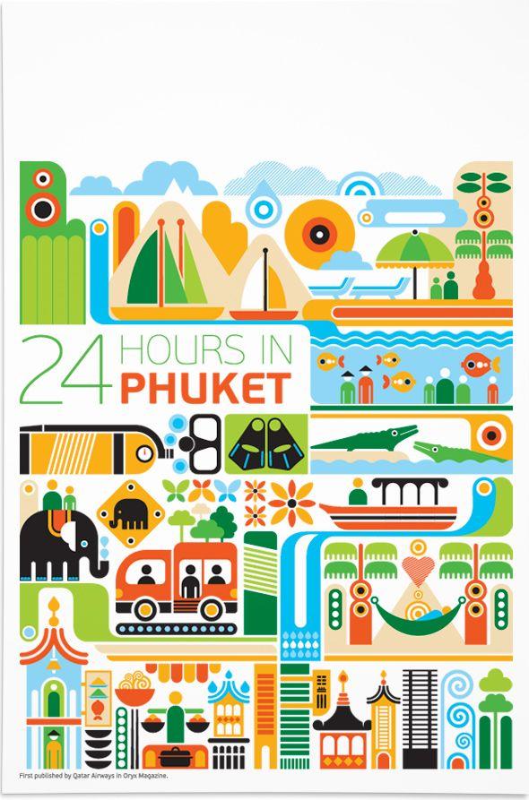 24 hours in Phuket print
