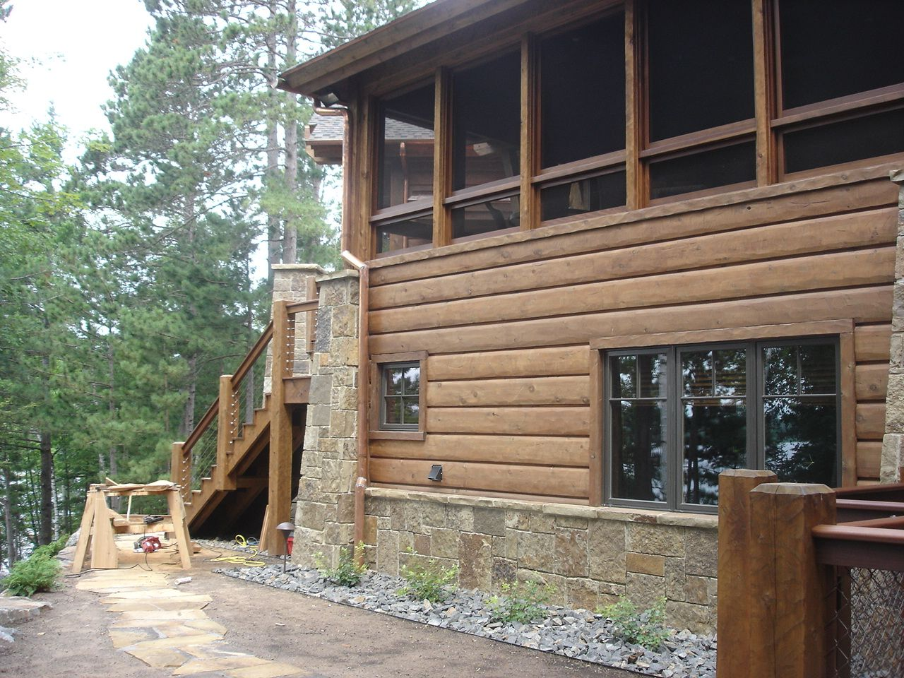 3 12 Tight Knot Cedar Gallatin T G Sikkens Srd 005 Natural Oak Wood Siding House Styles Rustic Wood