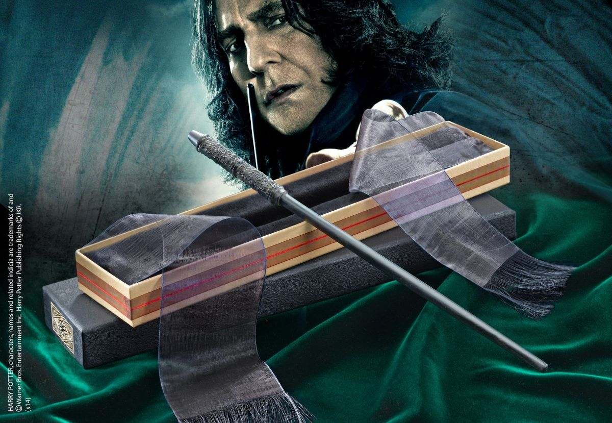 Harry Potter baguette du Professeur Severus Snape Rogue - Noble Collection
