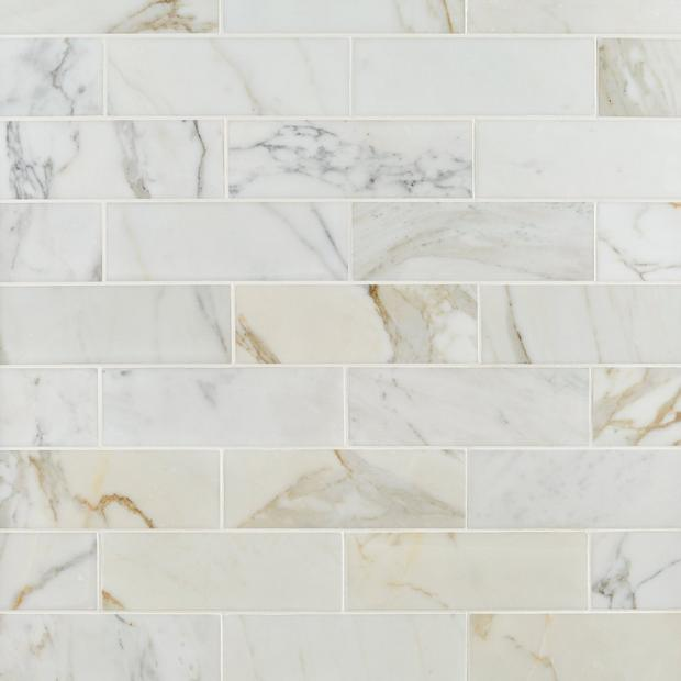 Calacatta Polished Marble Tile In 2020 Polished Marble Tiles Calacatta Marble Tile