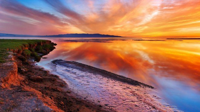 35 Mind Blowing Ocean Landscape Photography Examples Cinematic Landscapes Beautiful Landscape Pictures Beach Sunset Wallpaper Sunset Wallpaper