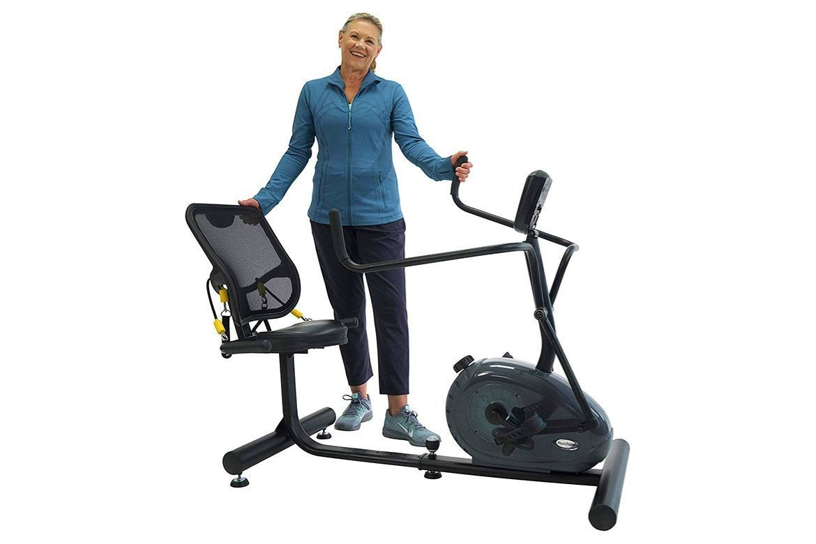 Exercise Bike With Moving Arms In 2020 Recumbent Bike Workout Biking Workout Bike