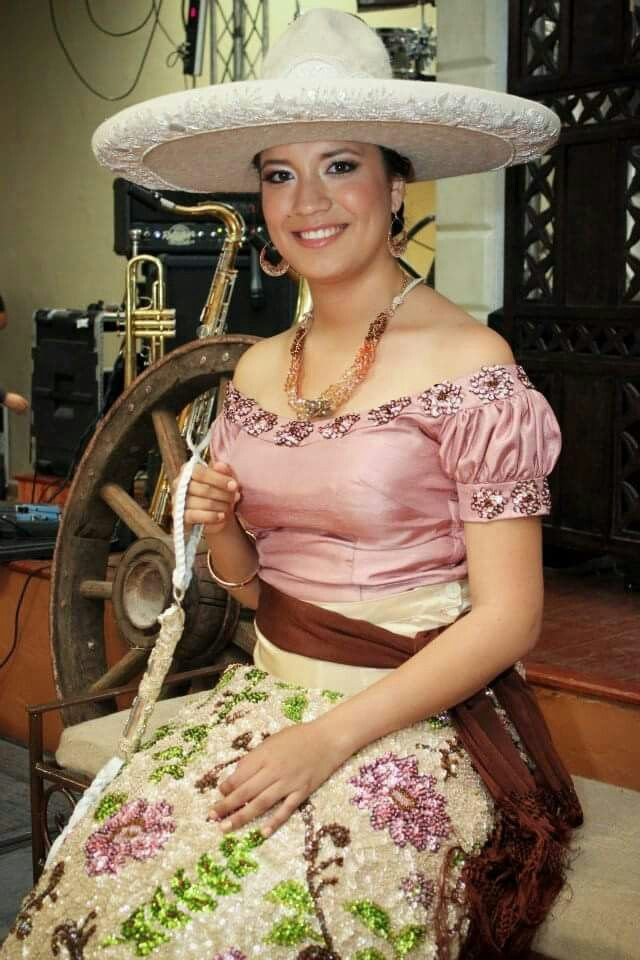 Vestido de chiana Poblana Evakali