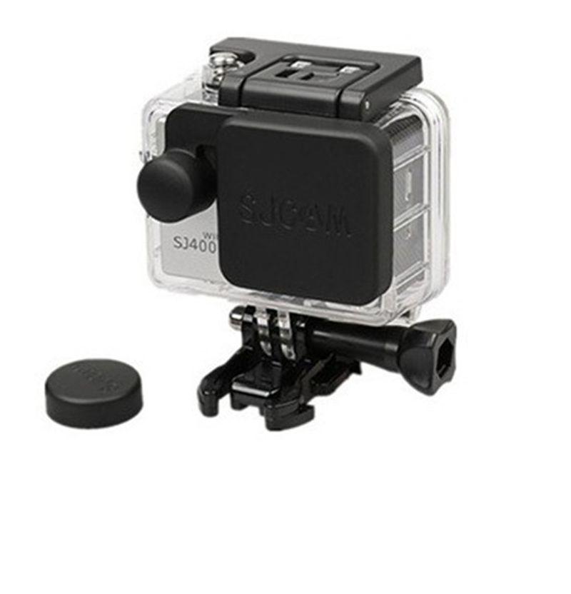 SJ4000 Lens Cover Cap + SJ4000 Housing Lens Cover for SJ 4000 SJCAM camera kit accessories