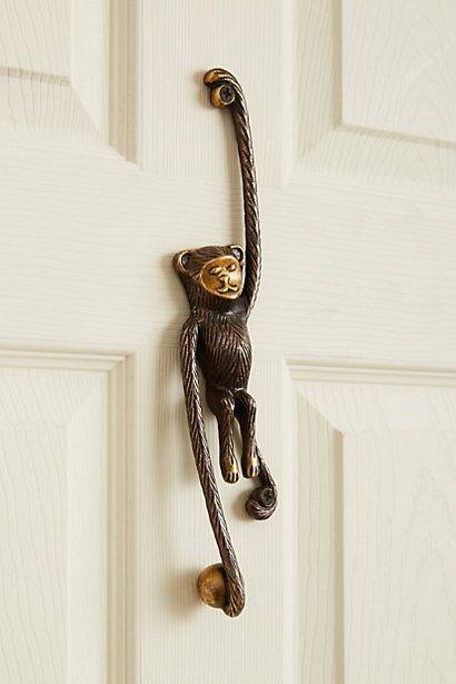 monkey door knocker love it animaldoorknockers fengshui