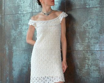 Crochet summer dress PATTERN detailed TUTORIAL for every row