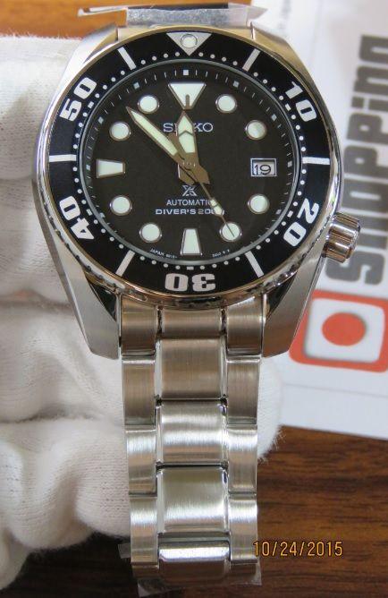12f11776a Seiko new Sumo SBDC031j with improved lume Seiko Sumo, Seiko Diver, Watch  One,