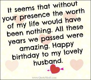 50 Cute And Romantic Birthday Wishes For Husband
