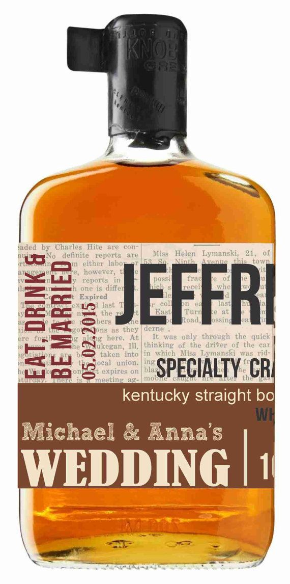 personalized knob creek bourbon labels will you be by magiclabels