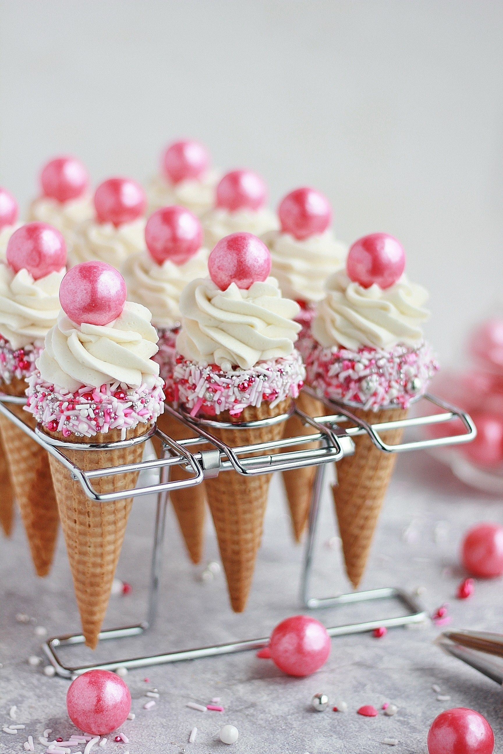 You Searched For Sprinkle Cake Cones Baking With Blondie In 2020