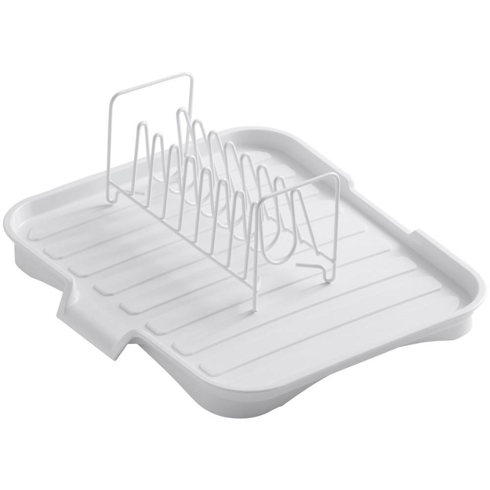 Kohler Drainboard With Wire Sink Bowl Rack In White K 6539 0