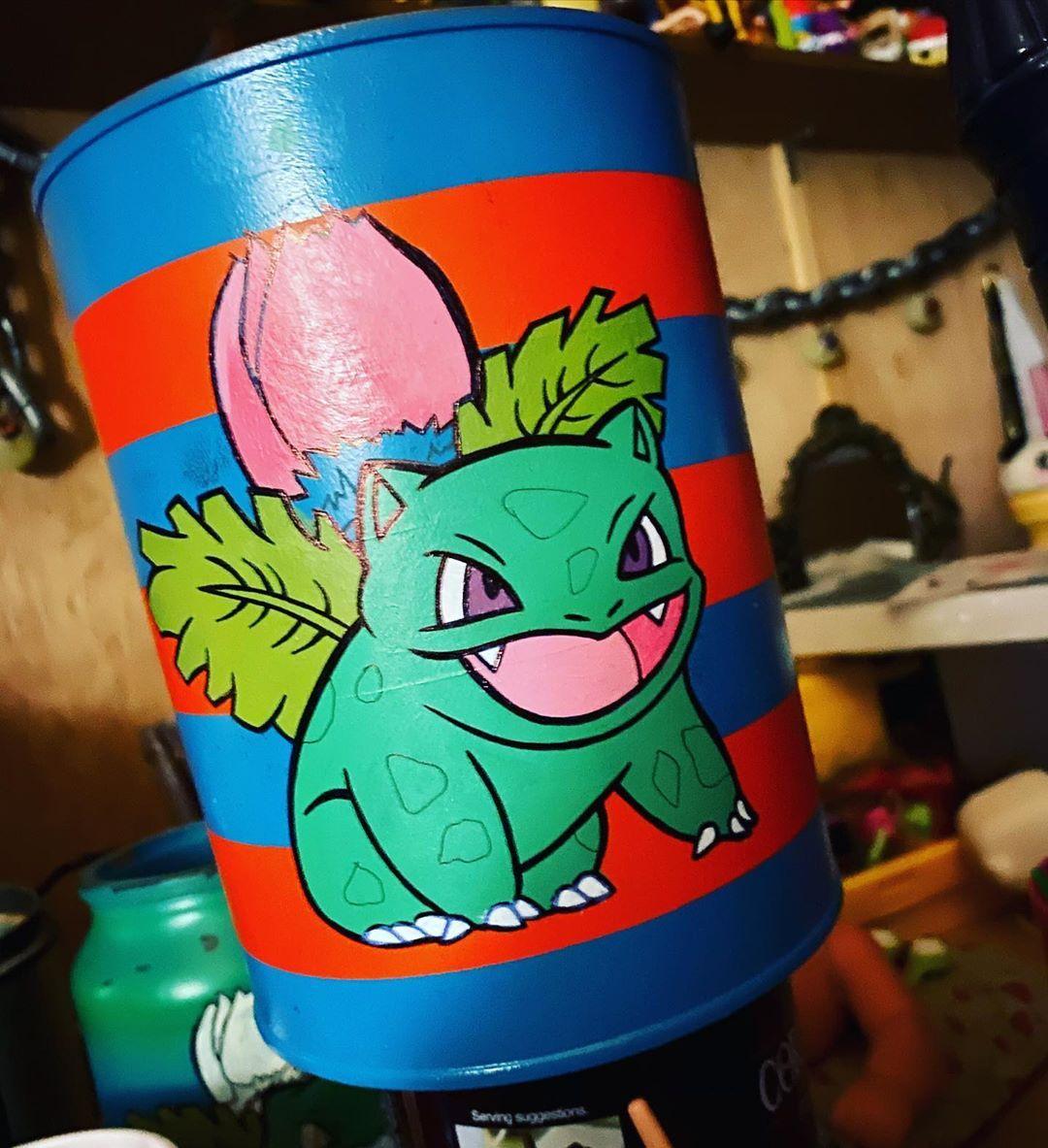 Pokémon plant pot on its waaaaay