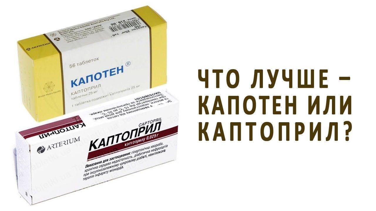 Таблетки от давления Каптоприл: как правильно принимать ...