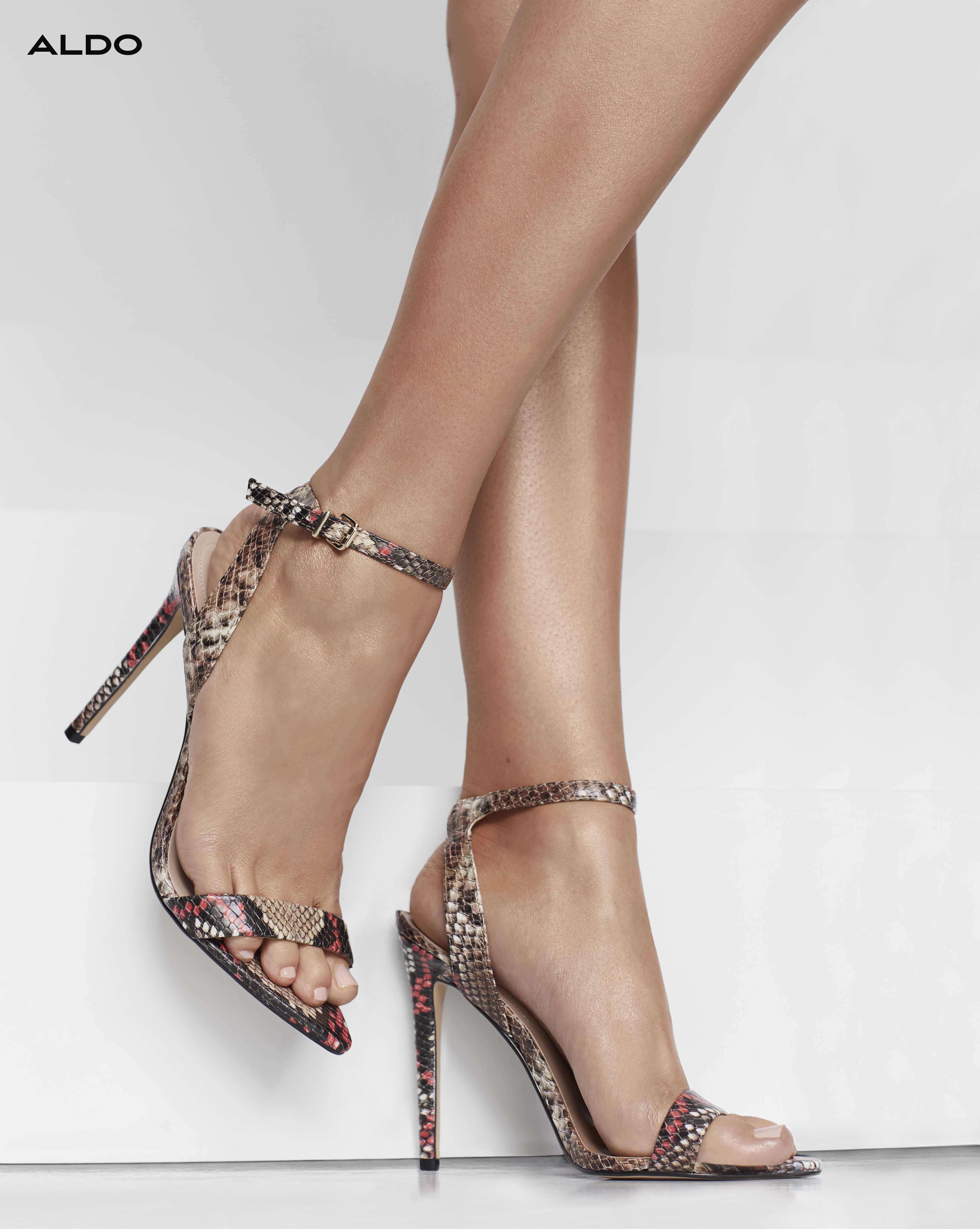 fb9e3427e2f Our Bravyan leather strappy sandal gets a trend-forward update with a  pointed-toe