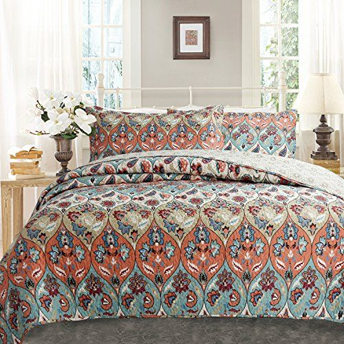 Best Of Coral Colored Comforter Set