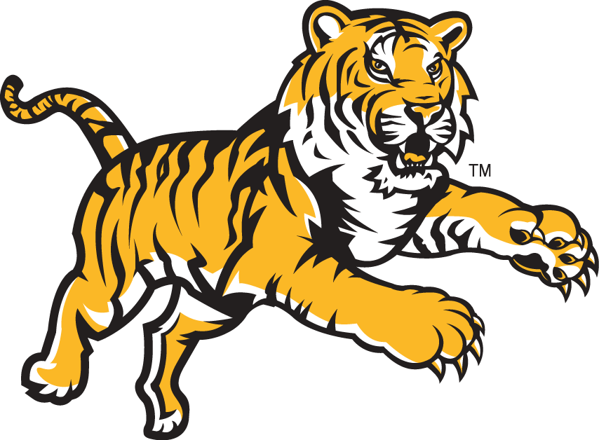 Louisiana State University Fighting Tigers Alternate Logo A Leaping Tiger Lsu Tigers Logo Cartoon Tiger Tiger Images