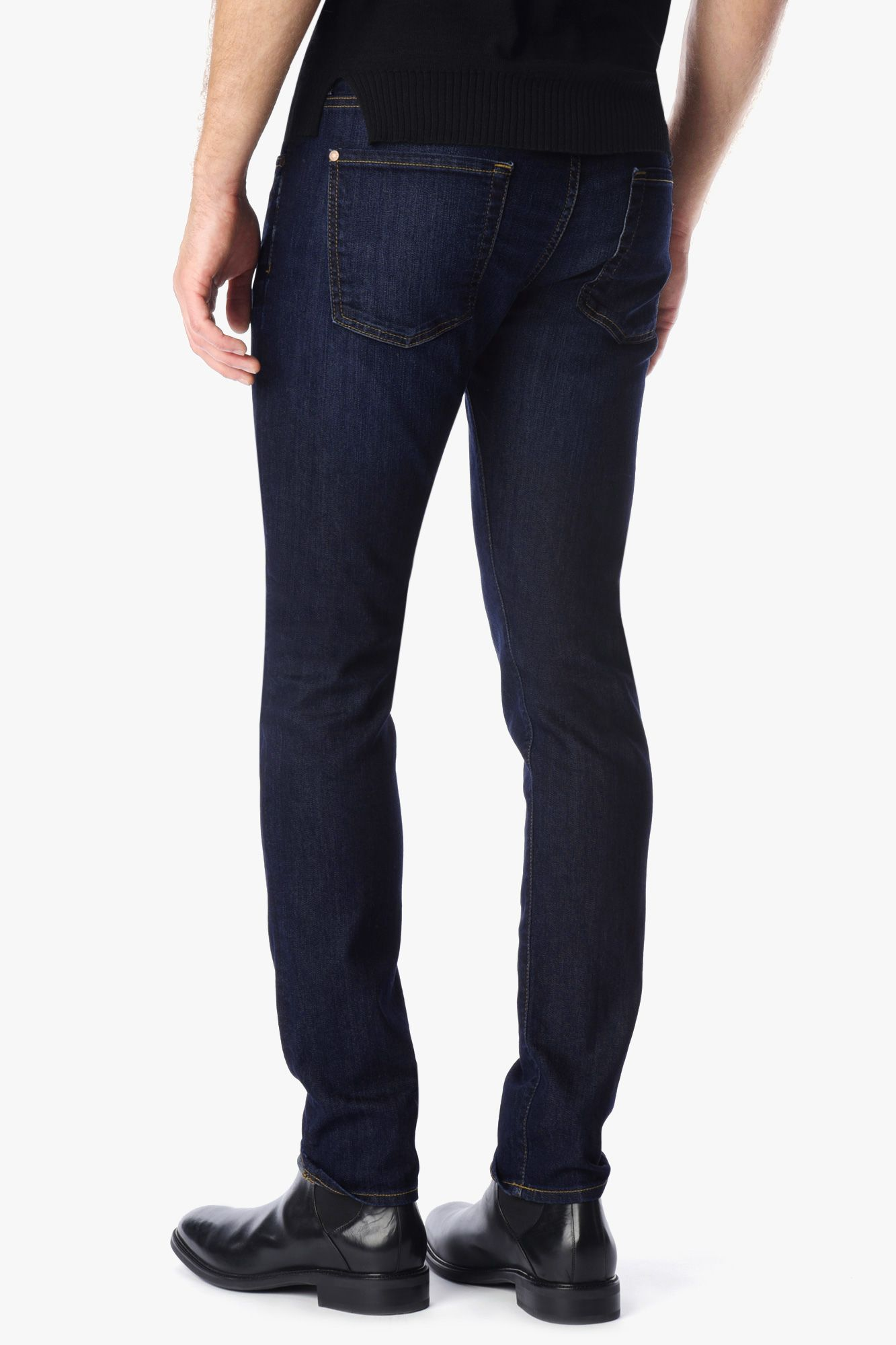 AirWeft Denim Paxtyn Skinny With Clean Pocket in Commotion