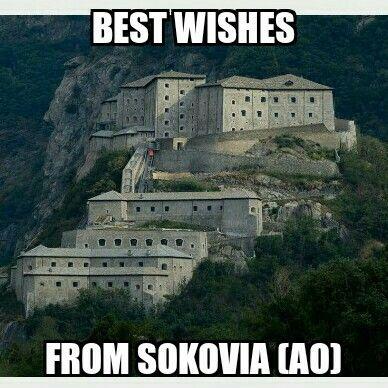 Saluti da Sokovia (AO)