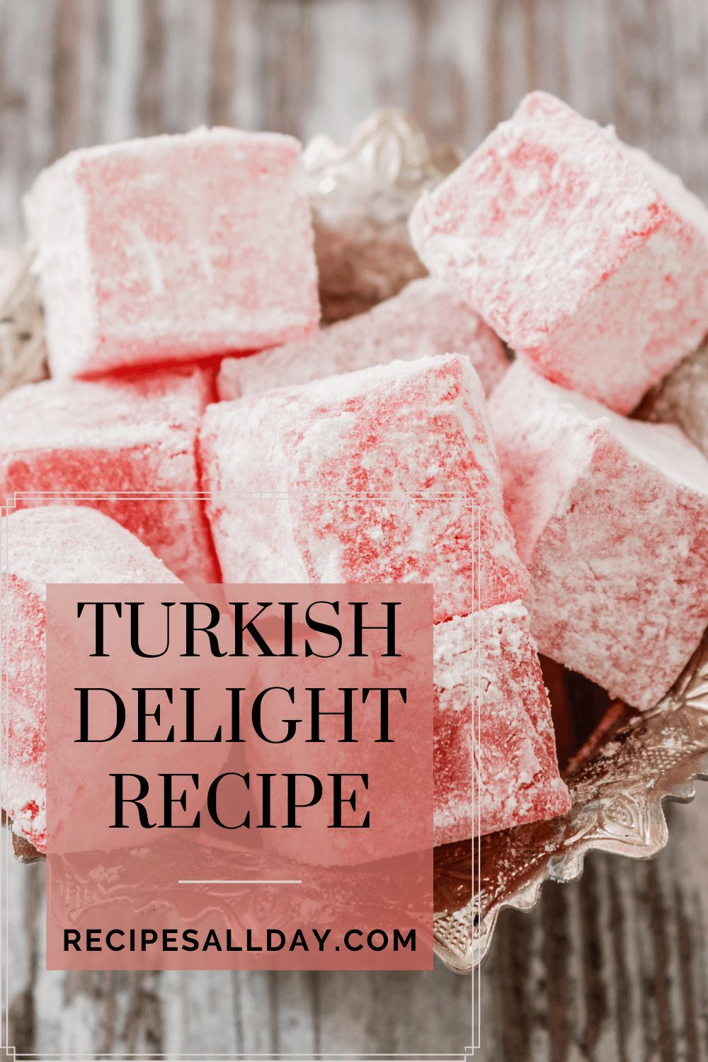 Photo of Turkish Delight Recipe