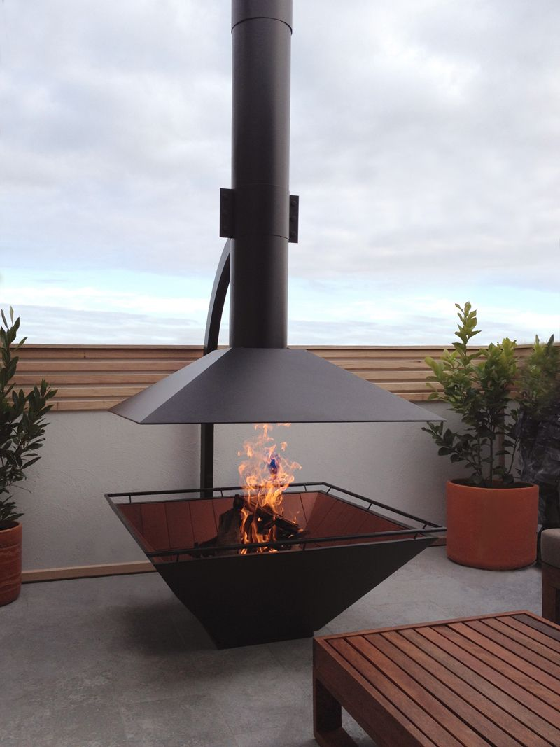 Such A Gorgeous External Fireplace For More Inspiration Head To