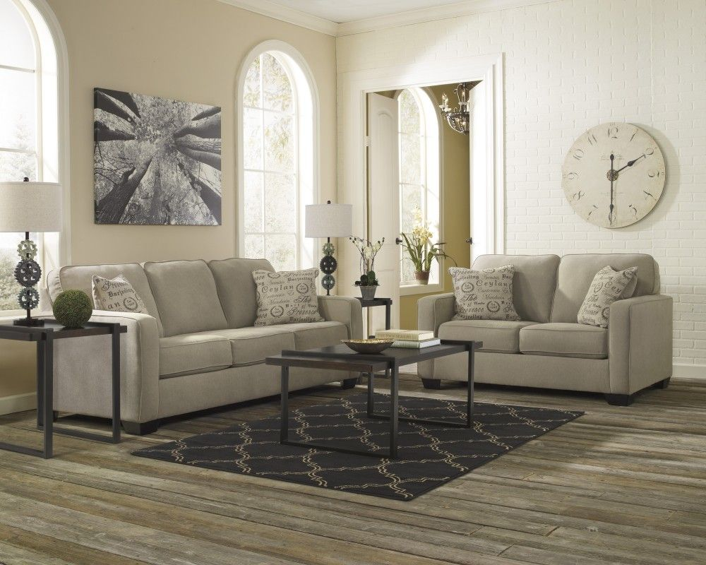 signature design by ashley sagen sienna sofa and loveseat playa