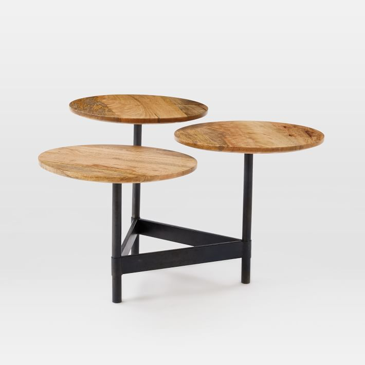 Tiered Circles Coffee Table Raw Mango Home Pinterest