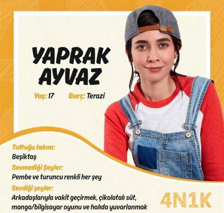 4N1K Oyuncuları /Yaprak Ayvaz