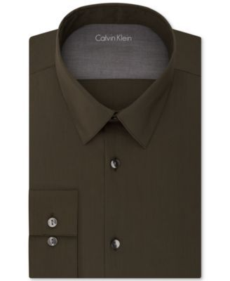 CALVIN KLEIN Calvin Klein X Men'S Extra Slim-Fit Stretch Dress Shirt. #calvinklein #cloth # dress shirts