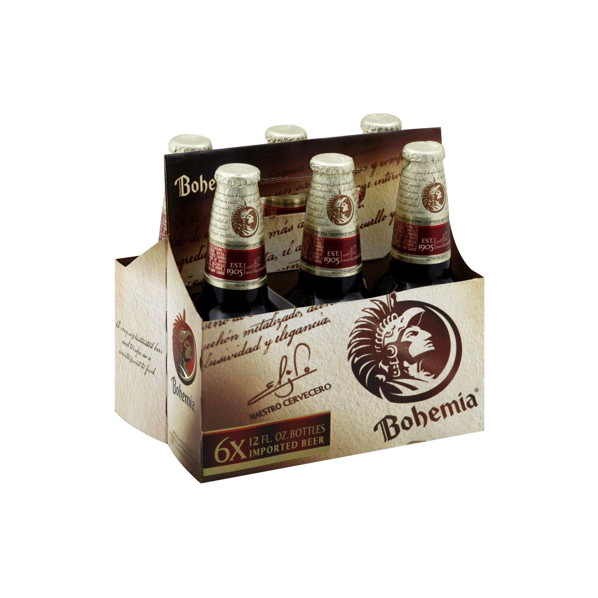 Bohemia Beer 6pk / 12oz Bottles Bohemia beer, Beer, Bottle