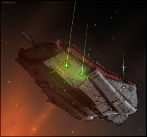 ISV Hussar by Daemoria #spaceship ...