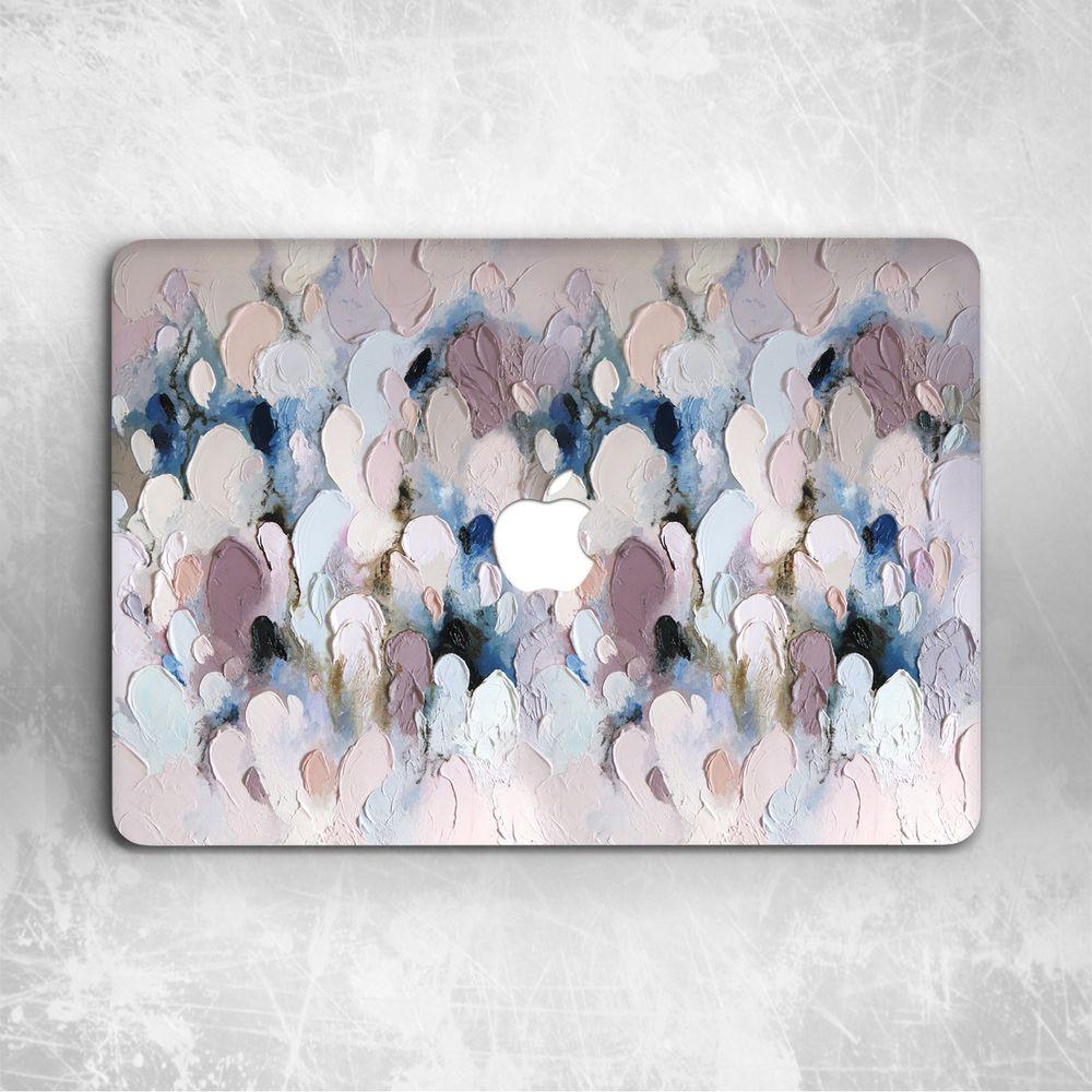 Brush Oil Paint Pastel Modern Art Hard Case For Macbook Pro 13 15 16 Air 11 13
