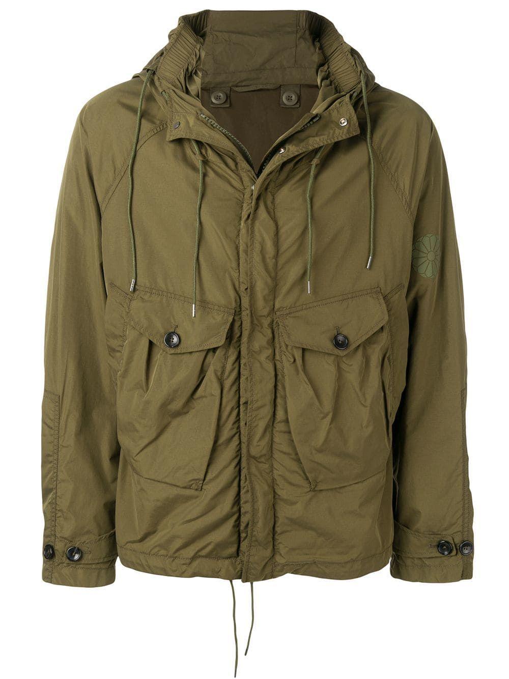 823fb09ab34 TEN C TEN C TEMPEST HOODED JACKET - GREEN. #tenc #cloth | Ten C in ...