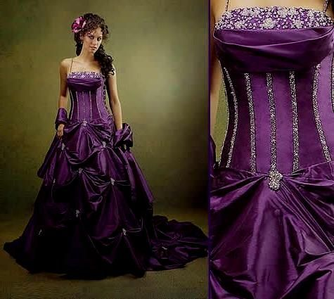 dark purple wedding dresses Naf Dresses | PURPLE WEDDINGS ...
