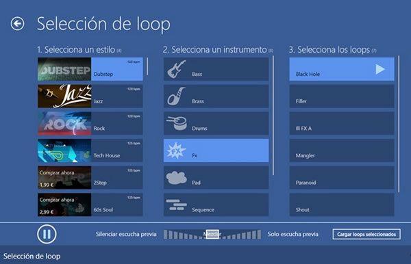 Music Maker Jam: Para hacer música fácilmente con tu tablet con Windows 8 o Windows RT
