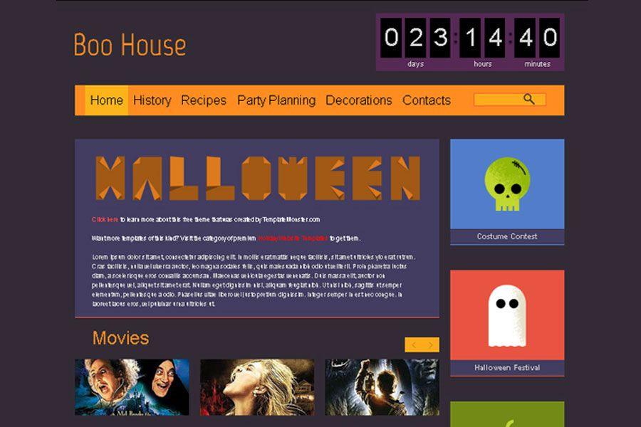 Free halloween html5 theme template httptemplatemonster free halloween html5 theme template httptemplatemonster pronofoot35fo Choice Image