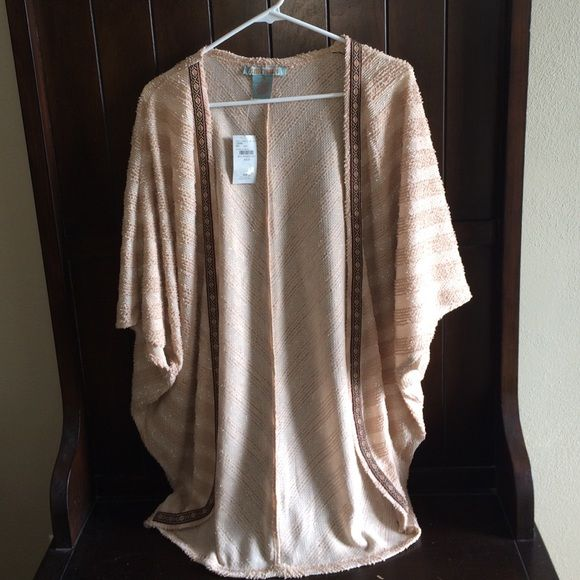 Buckle open fly away cardigan NWT- bought last year and but never worn! Flying Tomato Sweaters
