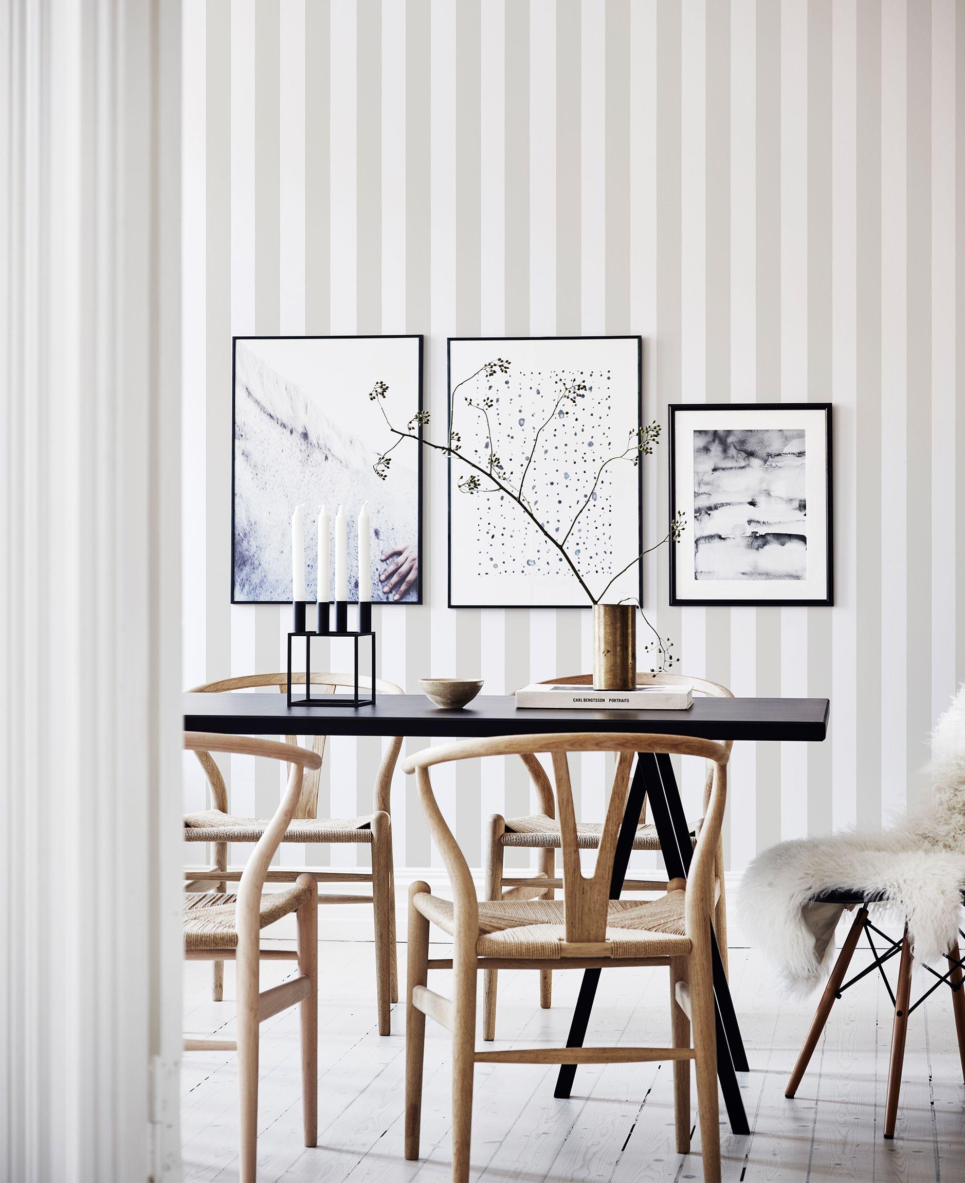 10 striped wallpaper design ideas - Wallpaper Design Ideas