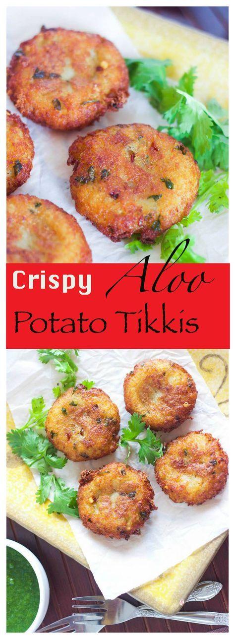 crispy aloo tikkis potato tikkis recipe indian appetizers aloo tikki recipe appetizer on hebbar s kitchen recipes aloo tikki id=13954