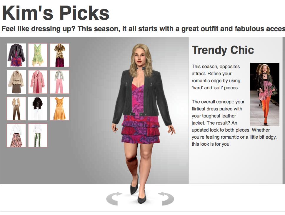 18++ Vertual dress up information