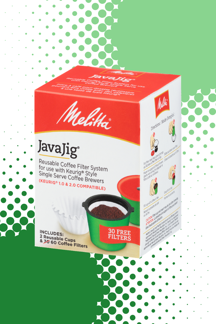JavaJig SingleServe Kit in 2020 Reusable coffee filter