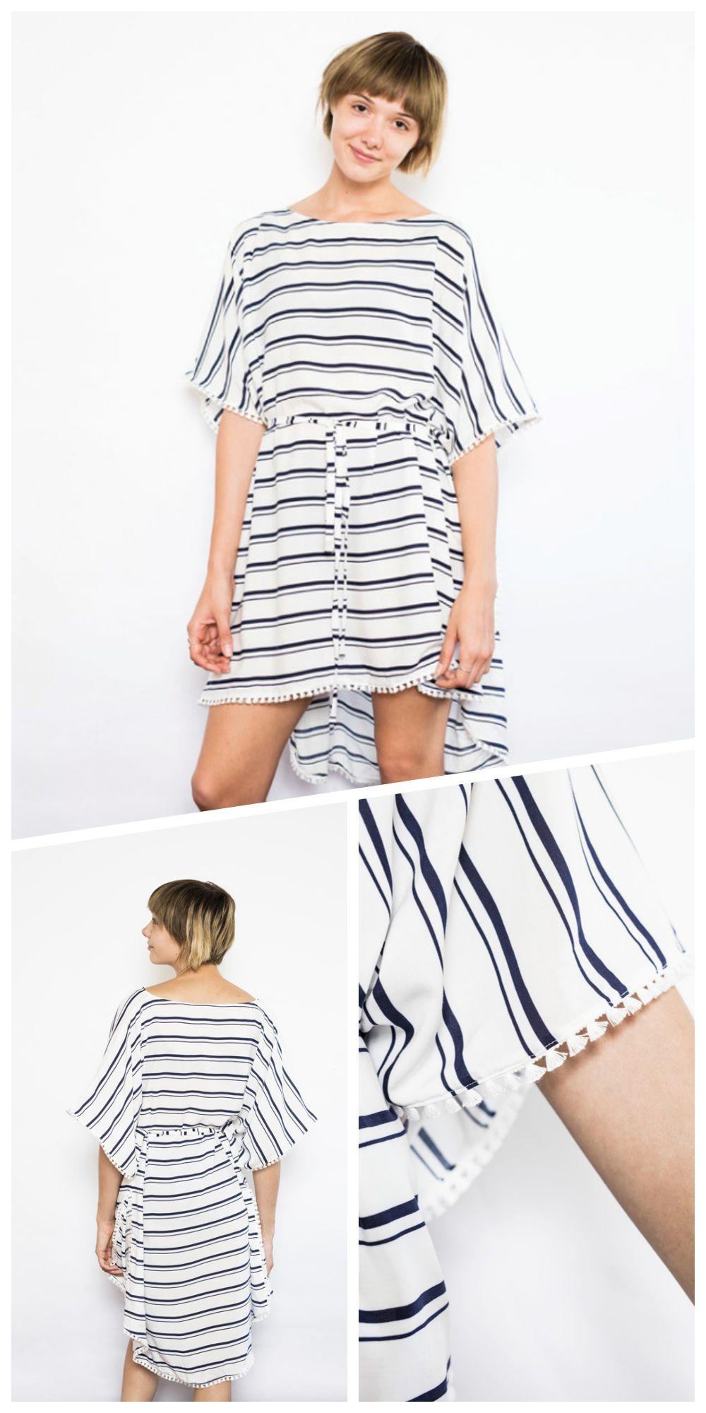 Einfaches Strandkleid