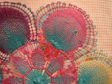Nanduti=embroidery+weaving