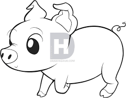 Image Result For How To Draw Pig Easy Sketch Book Pinterest