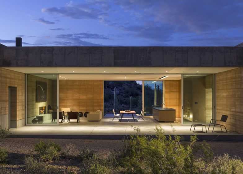 Tucson mountain retreat arizona by dust architetcture house contemporary