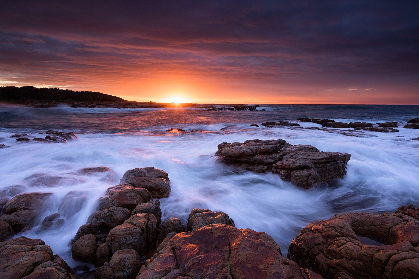 Wild Coast Seascape Sunrise South Africa Pondoland Wild Coast South Africa Landscape Photos South Africa Landscape