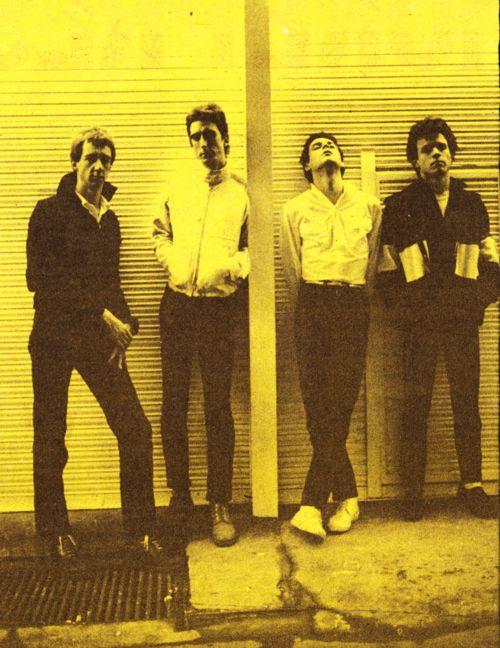 Wire, 1977 | Musique punk, Photo rock, Rock alternatif