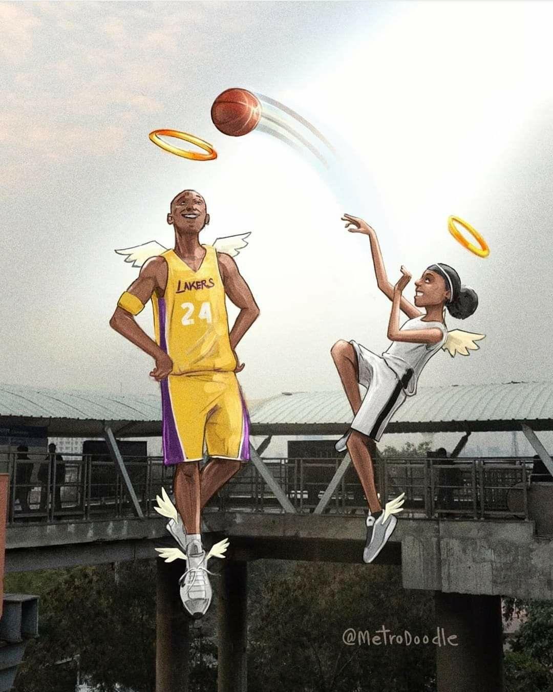 KOBE & GIGI BRYANT in 2020 (With images) Kobe bryant