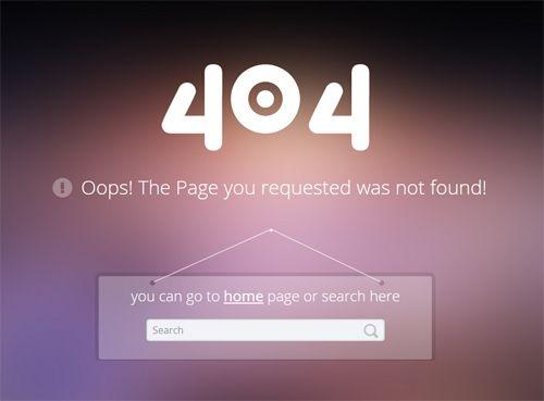 哎呦不错哦 一组让人眼前一亮的404创意页面设计 Page Design Website Design Inspiration Website Template
