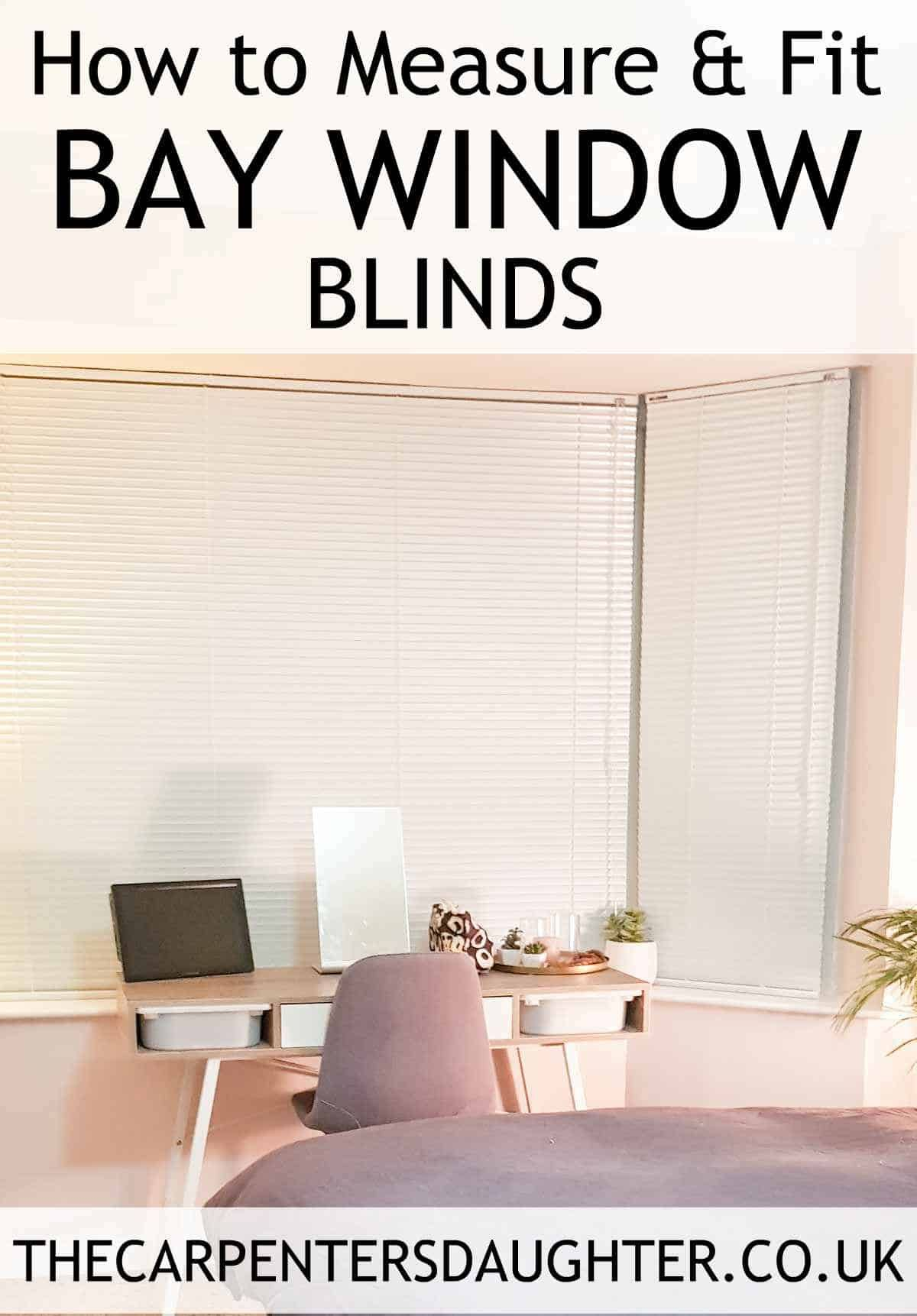 How to measure install bay window blinds blinds for